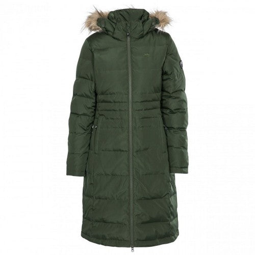Front - Trespass Womens/Ladies Phyllis Parka Down Jacket