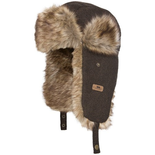 Front - Trespass Womens/Ladies Brinkley Winter Trapper Hat