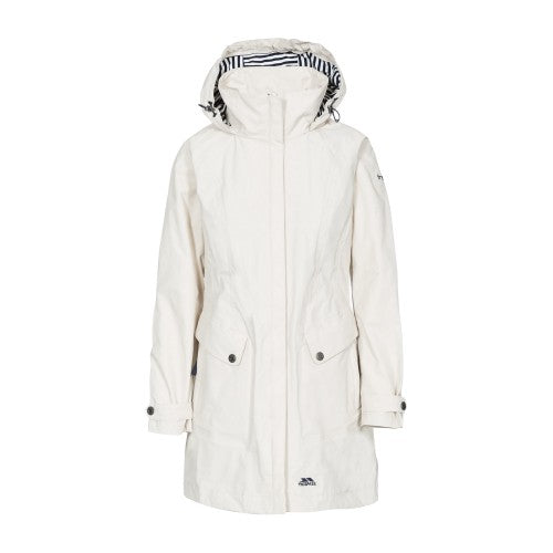 Front - Trespass Womens/Ladies Rainy Day Waterproof Jacket