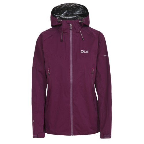 Front - Trespass Womens/Ladies Erika II Waterproof DLX Jacket
