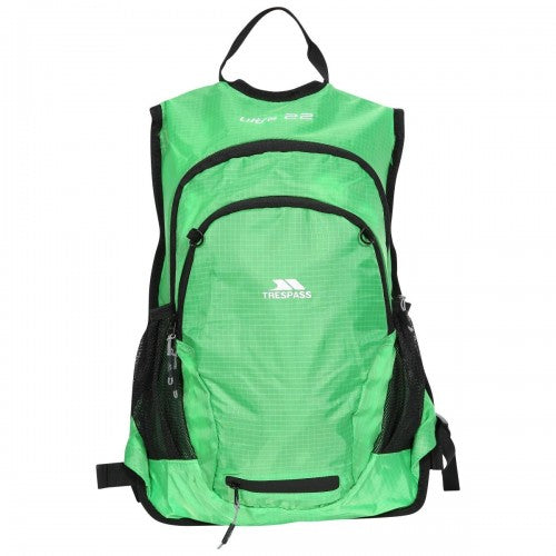Front - Trespass Ultra 22 Light Rucksack/Backpack (22 Liters)