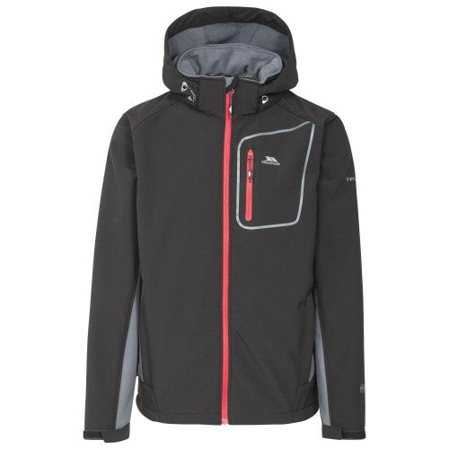 Front - Trespass Mens Strathy II Softshell Jacket