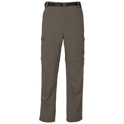 Front - Trespass Mens Rynne Moskitophobia Hiking Trousers