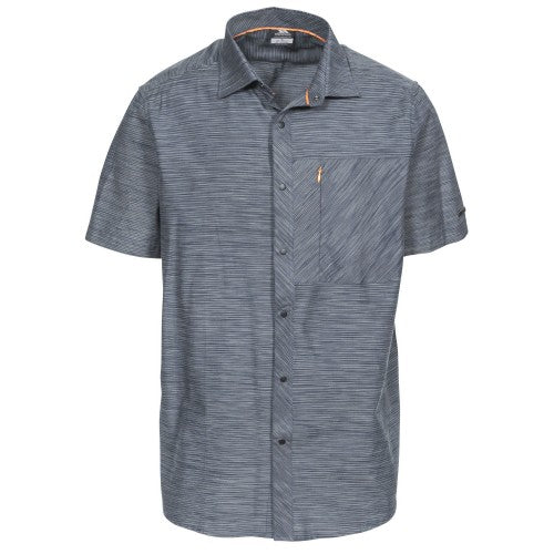 Front - Trespass Mens Matadi Short Sleeve Shirt