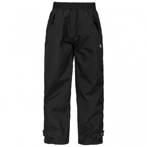 Front - Trespass Childrens/Kids Echo Waterproof Pants/Trousers