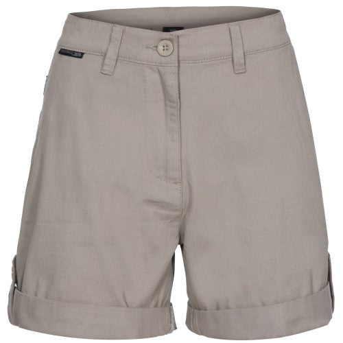 Front - Trespass Womens/Ladies Rectify Adventure Shorts