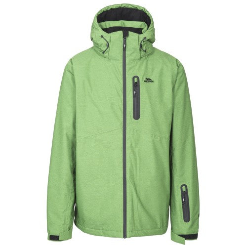 Front - Trespass Mens Lurgan Ski Jacket