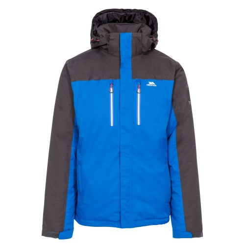 Front - Trespass Mens Tolsford Waterproof Jacket