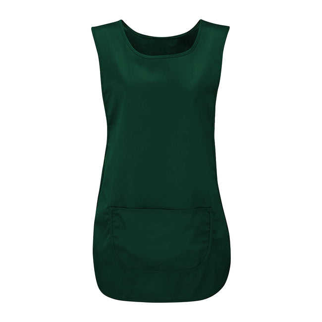 Bottle Green - Front - Absolute Apparel Adults Workwear Tabard With Pocket