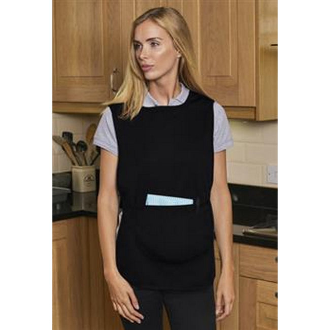 Black - Back - Absolute Apparel Adults Workwear Tabard With Pocket