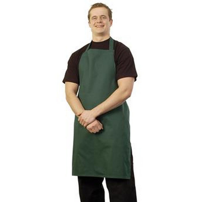Bottle Green - Front - BonChef Full Length Apron