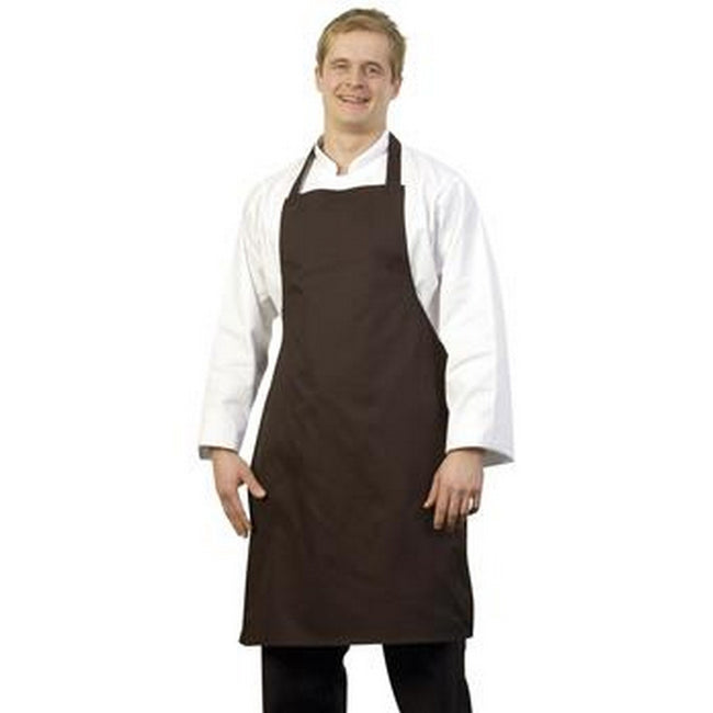 Black - Front - BonChef Full Length Apron