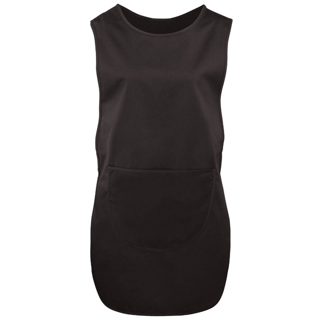 Black - Front - BonChef Pocket Tabard