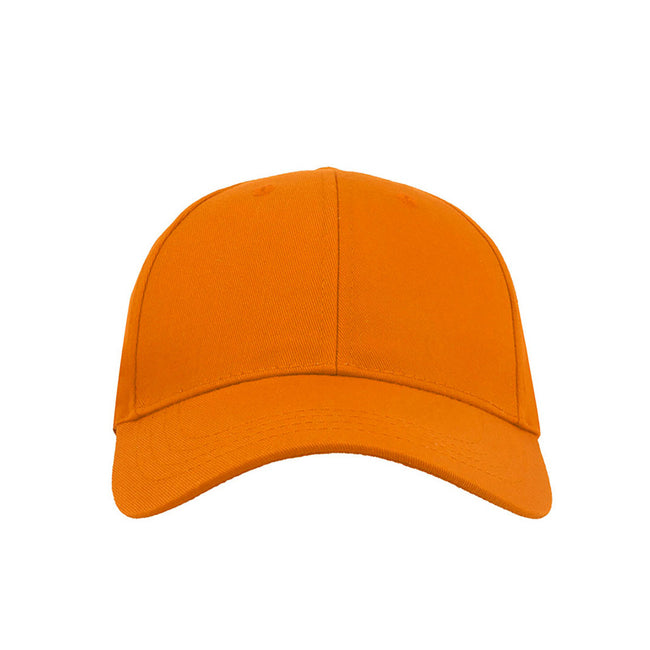 Green - Front - Atlantis Zoom Sports 6 Panel Baseball Cap (Pack of 2)