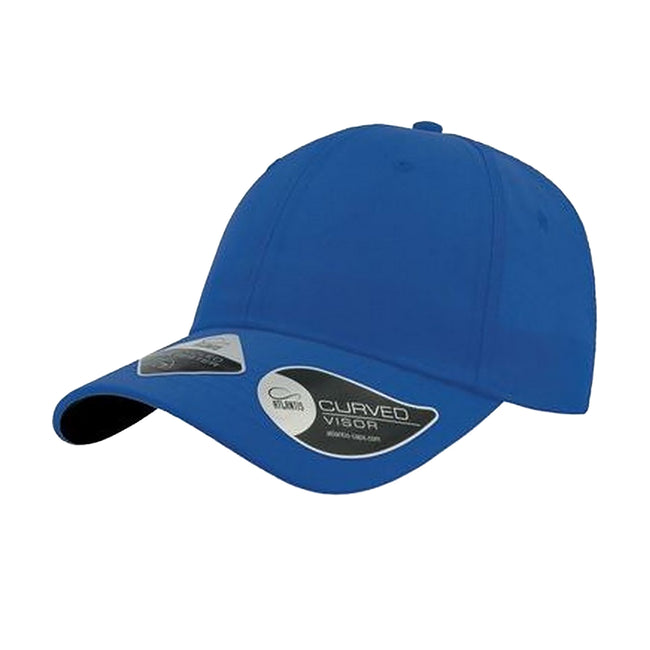 Royal - Front - Atlantis Unisex Recycled 6 Panel Cap