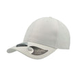 White - Front - Atlantis Unisex Recycled 6 Panel Cap