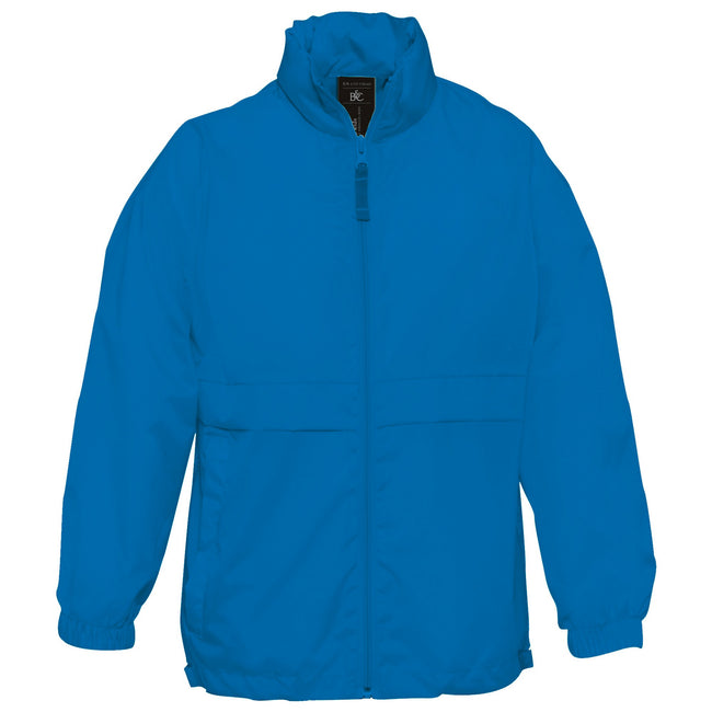 Royal - Lifestyle - B&C Childrens Sirocco Lightweight Jacket - Childrens Jackets