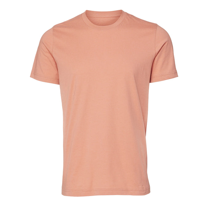 Deep Teal - Front - Canvas Unisex Jersey Crew Neck Short Sleeve T-Shirt