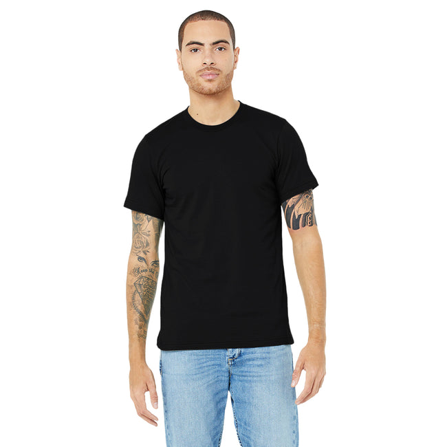 Mauve - Front - Canvas Unisex Jersey Crew Neck Short Sleeve T-Shirt