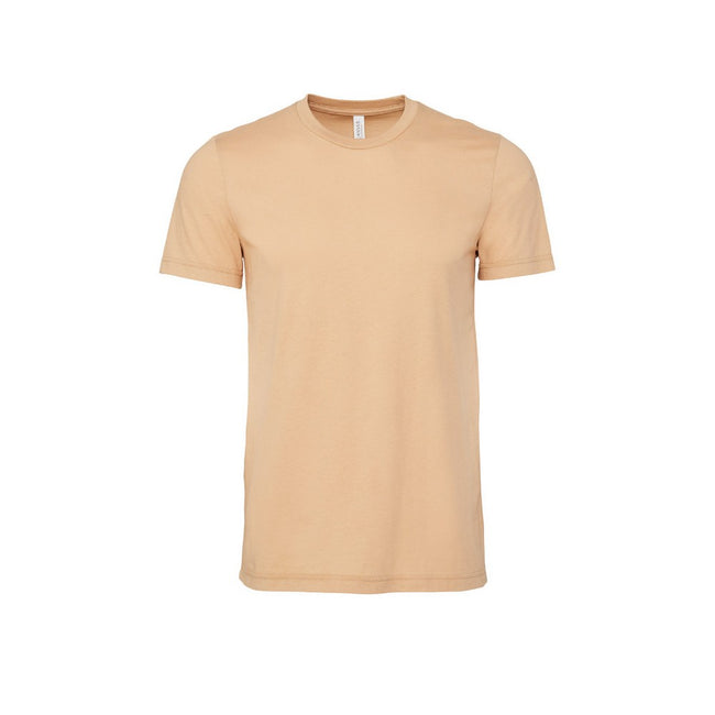 Sand Dune - Front - Canvas Unisex Jersey Crew Neck Short Sleeve T-Shirt