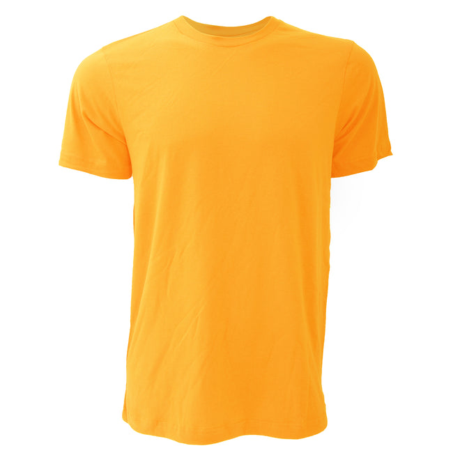Storm Gray - Front - Canvas Unisex Jersey Crew Neck Short Sleeve T-Shirt