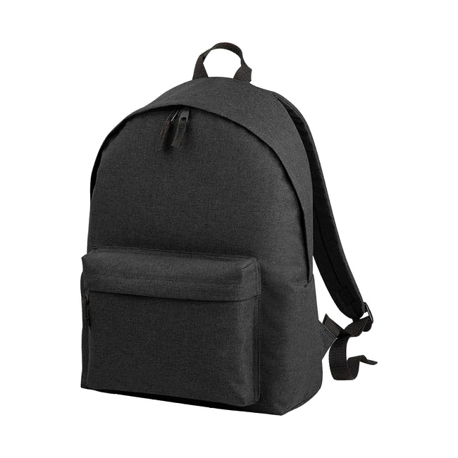 Anthracite - Front - Bagbase Two Tone Fashion Backpack - Rucksack - Bag (18 Litres)