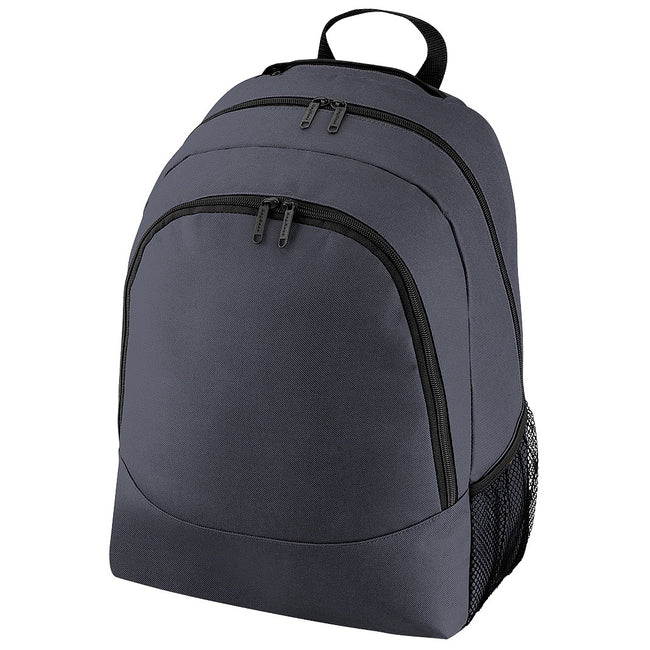 Graphite - Front - Bagbase Universal Multipurpose Backpack - Rucksack - Bag (18 Litres)