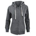 Swiss Navy - Front - Mantis Womens-Ladies Superstar Zip Hooded Sweatshirt - Hoodie