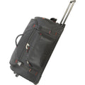 Black - Back - Shugon Paris Trolley Holdall - Travel Bag (78 Liters)