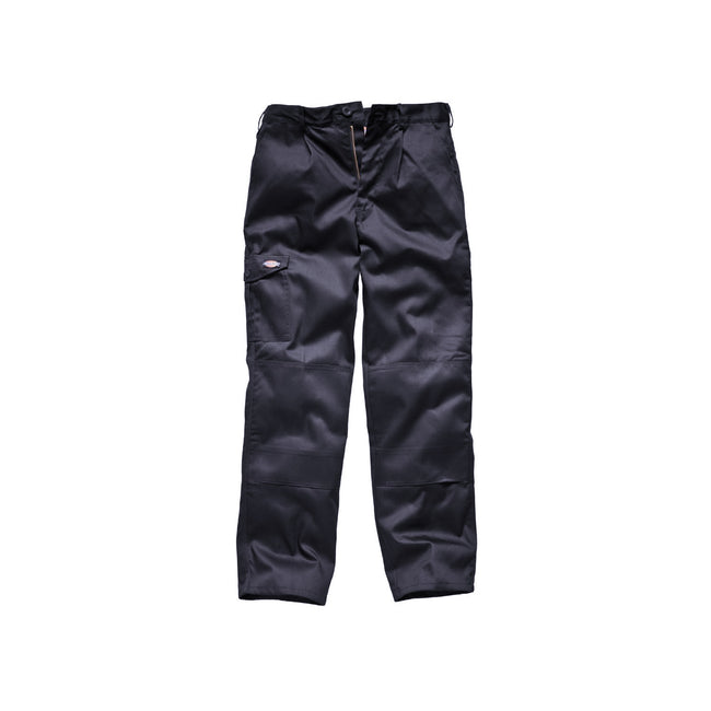 Navy Blue - Front - Dickies Redhawk Super Work Trouser (Tall) - Mens Workwear