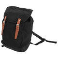 Black - Front - Quadra Vintage Rucksack - Backpack
