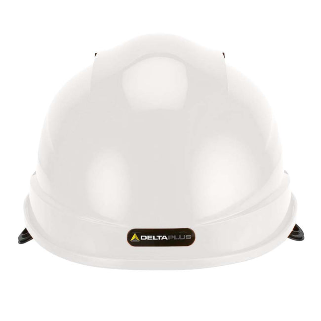 Green - Front - Delta Plus Quartz Rotor Ventilated Safety Work Helmet