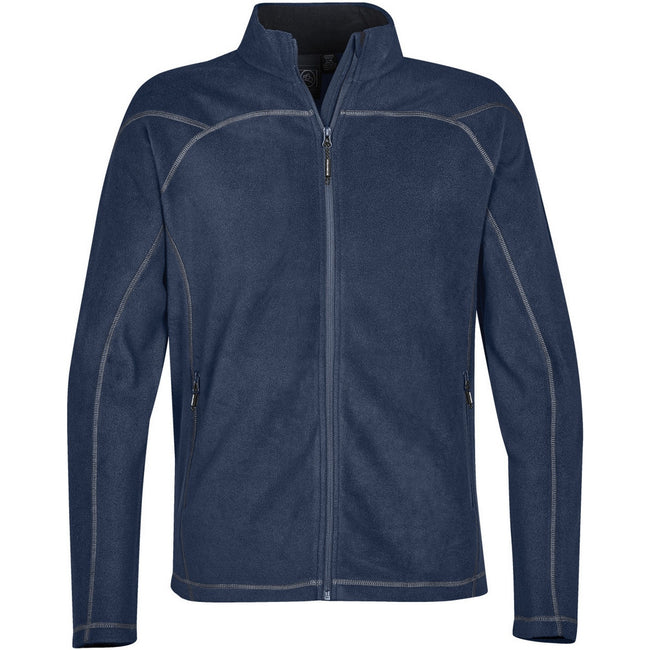 Navy Blue - Front - Stormtech Mens Reactor Fleece Shell Jacket