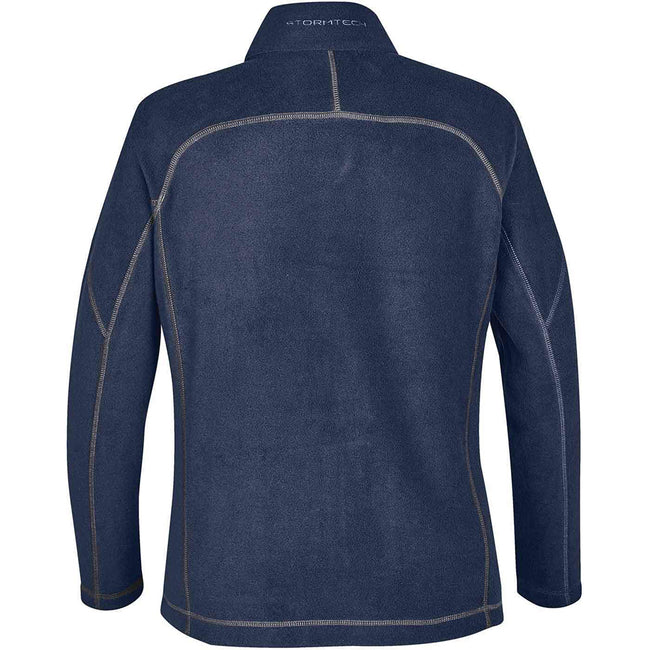 Navy Blue - Back - Stormtech Mens Reactor Fleece Shell Jacket