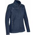 Navy Blue - Side - Stormtech Mens Reactor Fleece Shell Jacket
