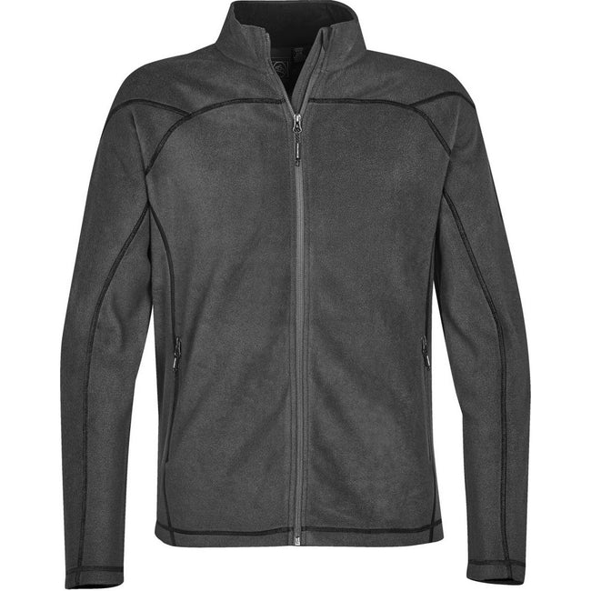 Granite - Front - Stormtech Mens Reactor Fleece Shell Jacket
