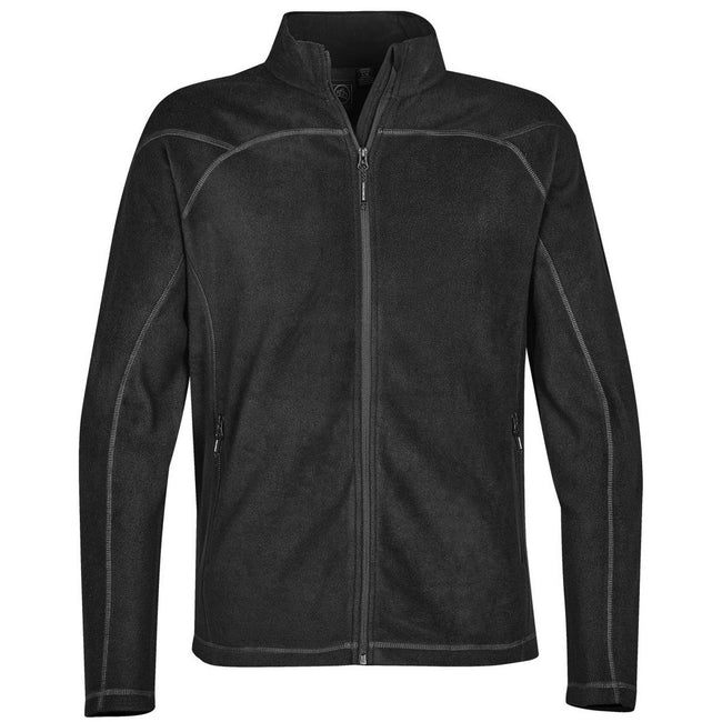 Black - Front - Stormtech Mens Reactor Fleece Shell Jacket