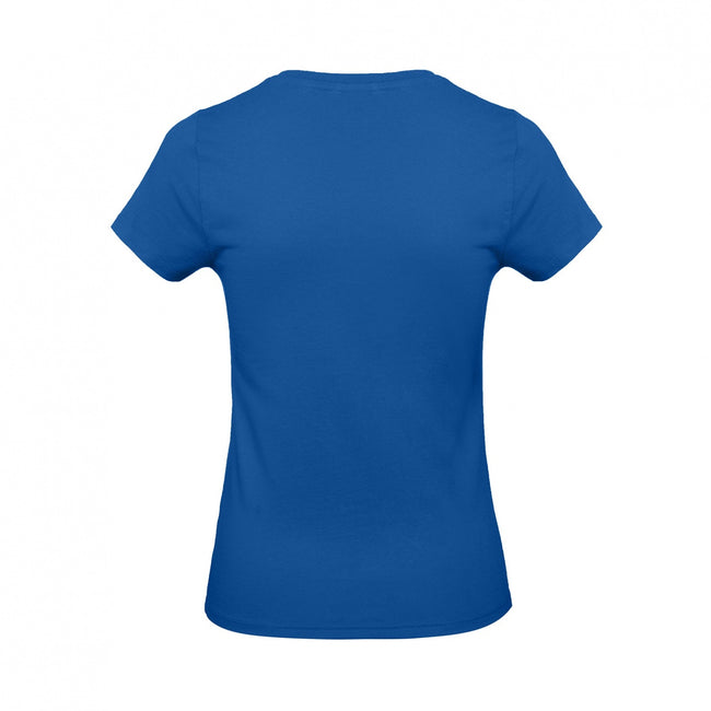 White - Front - B&C Womens-Ladies E190 Tee