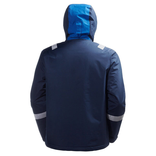 Jet Black - Back - Helly Hansen Mens Aker Winter Jacket