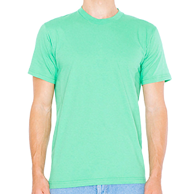 Grass - Front - American Apparel Mens Fine Jersey Tee