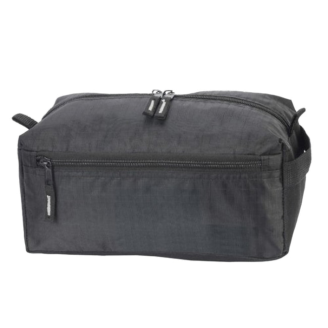 Black - Front - Shugon Ibiza Toiletry Bag (Pack of 2)