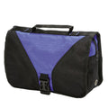 Royal-Black - Front - Shugon Bristol Folding Travel Toiletry Bag - 4 Liters (Pack of 2)