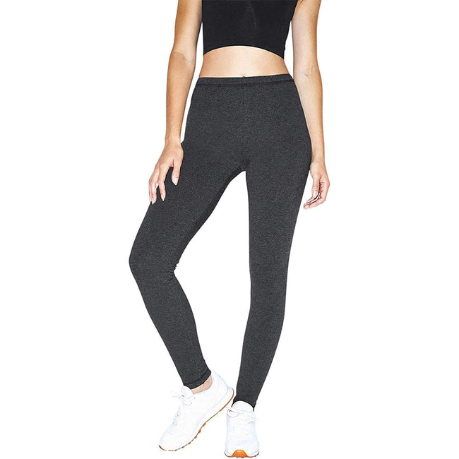 Charcoal - Lifestyle - American Apparel Womens-Ladies Winter Leggings