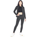 Charcoal - Pack Shot - American Apparel Womens-Ladies Winter Leggings