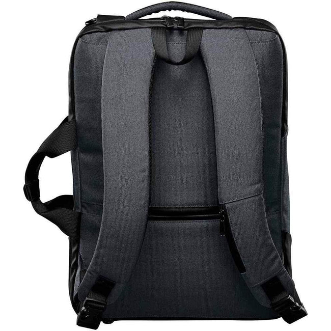 Graphite Gray-Black - Side - Stormtech Adults Unisex Road Warrior Computer Bag