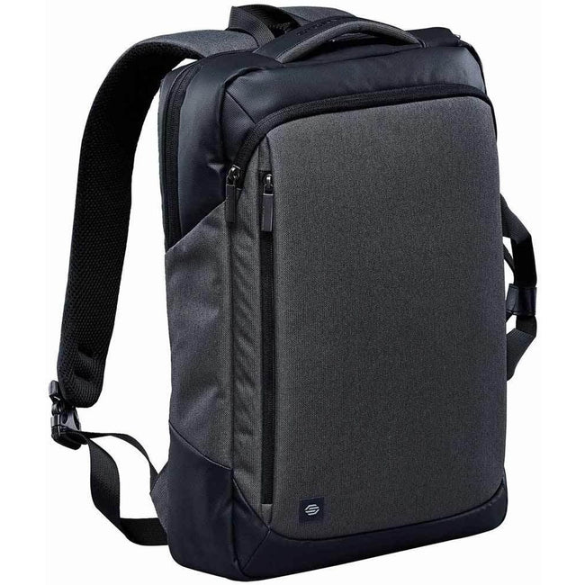 Graphite Gray-Black - Lifestyle - Stormtech Adults Unisex Road Warrior Computer Bag