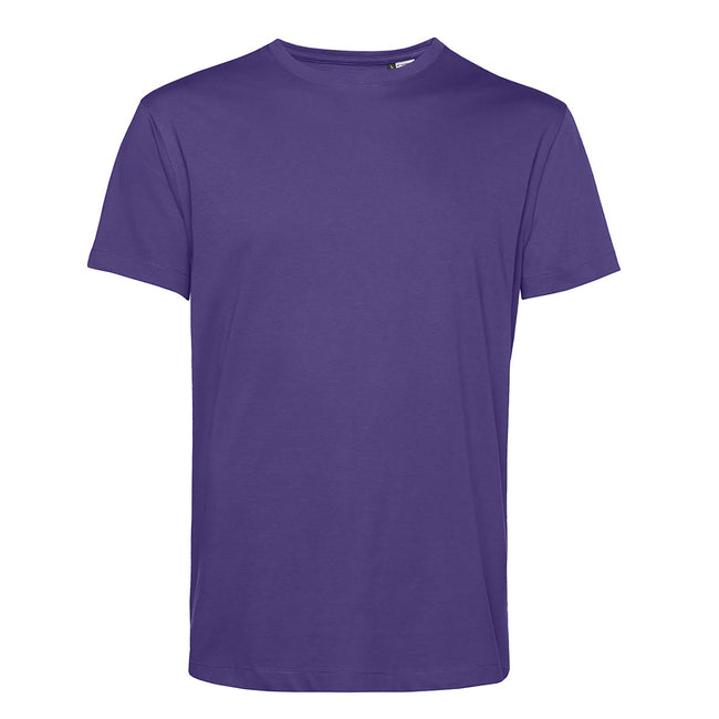 Royal Blue - Front - B&C Mens Organic E150 T-Shirt