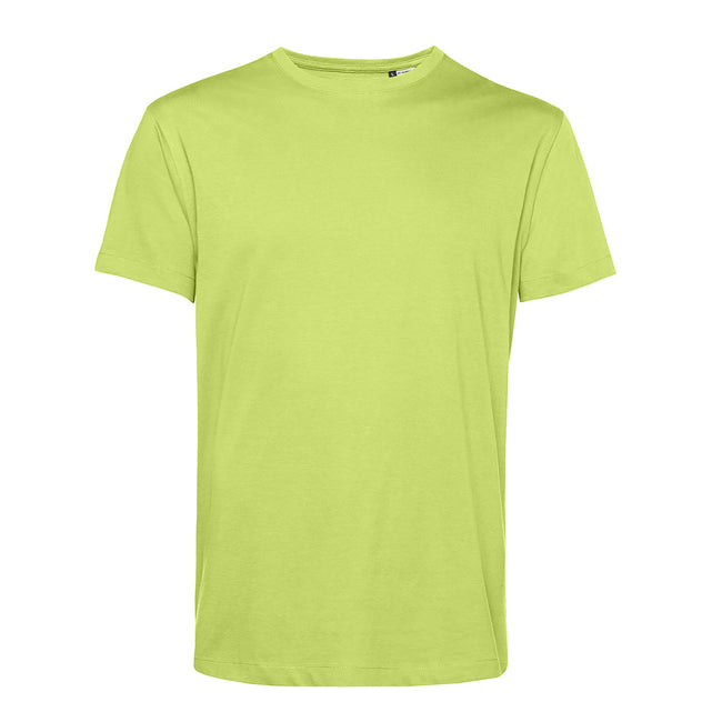 Yellow Fizz - Front - B&C Mens Organic E150 T-Shirt