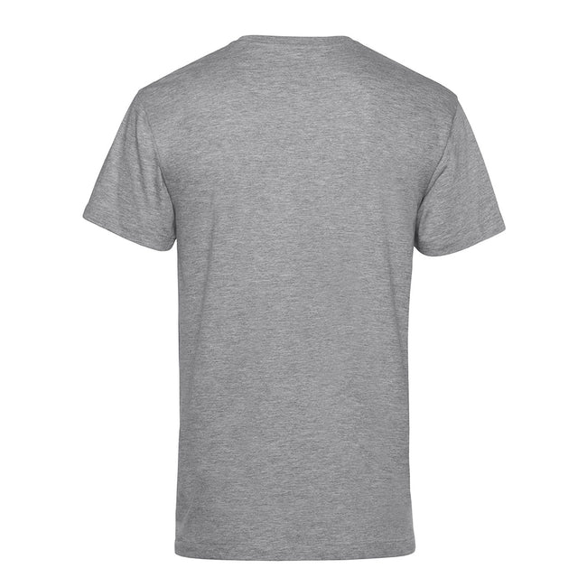 Black Pure - Front - B&C Mens Organic E150 T-Shirt