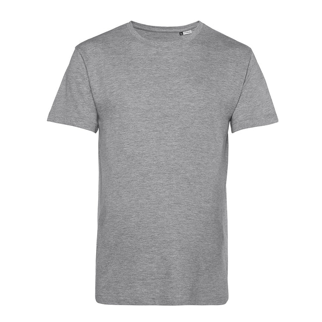 Apple Green - Front - B&C Mens Organic E150 T-Shirt